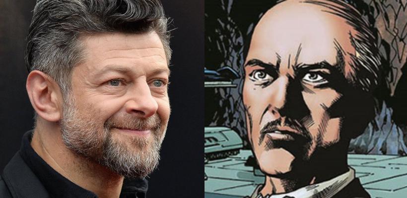 The Batman | Ya es oficial, Andy Serkis será Alfred Pennyworth