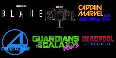 Disney anuncia el estreno de cinco películas de la Fase 5 del MCU