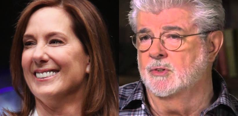 Kathleen Kennedy dice que George Lucas debe superar su repudio por las nuevas películas de Star Wars