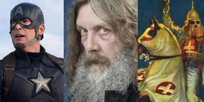 """Alan Moore arremete contra el cine de superhéroes: """"El Nacimiento de una Nación es la primera película del género"""""""