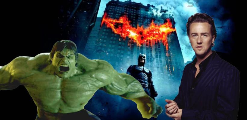 Edward Norton declara que Marvel eliminó la visión que él tenía para Hulk: El Hombre Increíble
