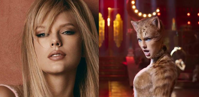 Taylor Swift adora la rareza de la película de Cats