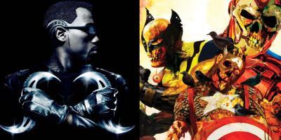 El reboot de Blade podría introducir a los Marvel Zombies