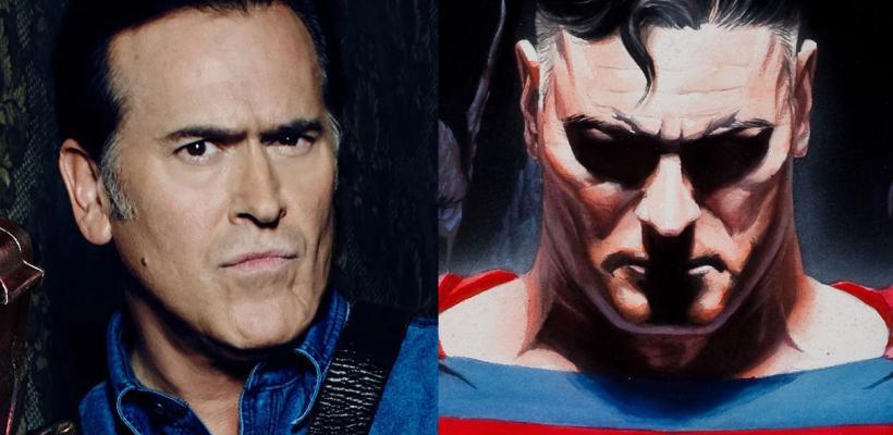 Bruce Campbell quiere interpretar a Superman en una adaptación de Kingdom Come