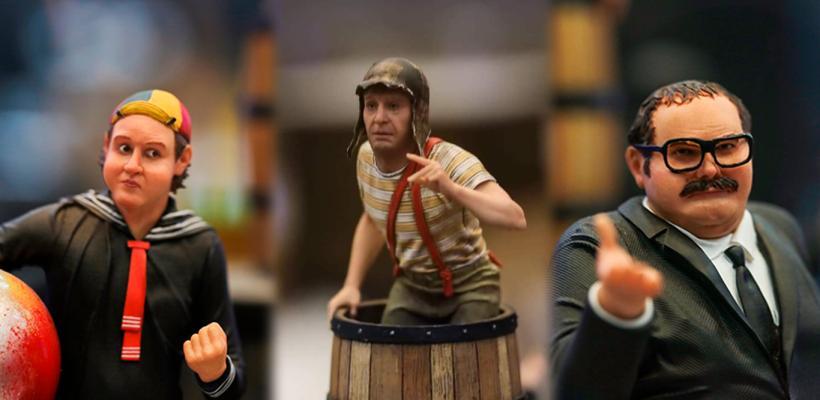Las figuras de El Chavo del 8 de Iron Studios que están volviendo loco al Internet