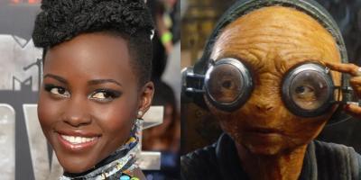 Star Wars: Lupita Nyongo enfurece ante pregunta incómoda sobre Maz Kanata