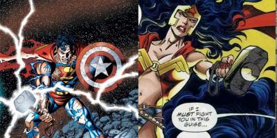 Marvel revela que Superman y Wonder Woman han levantado el martillo de Thor