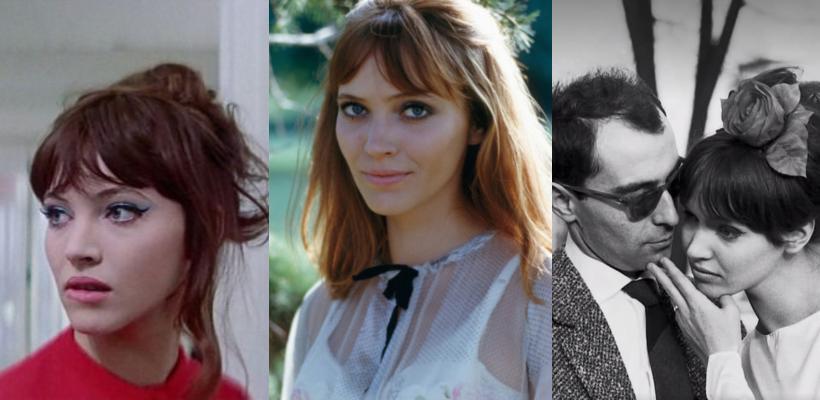 Murió Anna Karina, protagonista de Pierrot el Loco y de docenas de películas de la Nueva Ola francesa