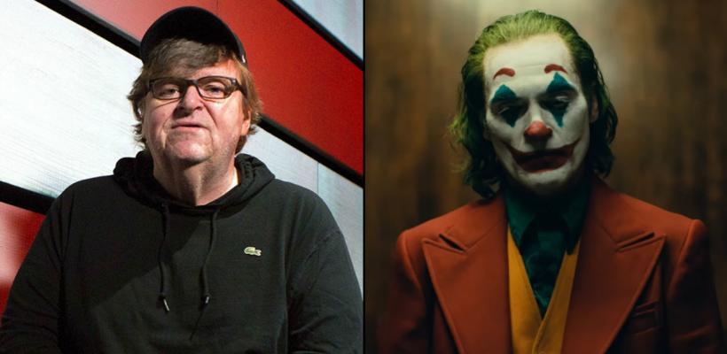 Michael Moore dedica un nuevo ensayo a Joker y la califica como una obra maestra del séptimo arte