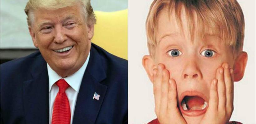 Donald Trump responde a la cadena canadiense que eliminó su cameo en Mi pobre angelito 2