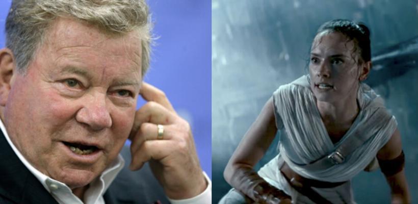 William Shatner, protagonista de la serie Star Trek clásica, se burla de Star Wars: el ascenso de Skywalker