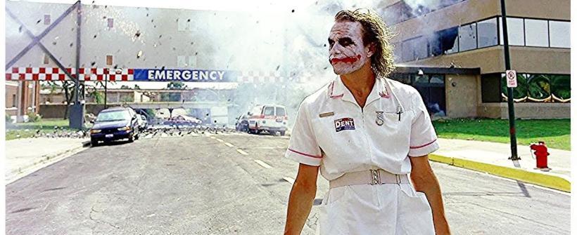 El Guasón explota el Hospital Genaral de Gotham | Batman: El caballero de la noche
