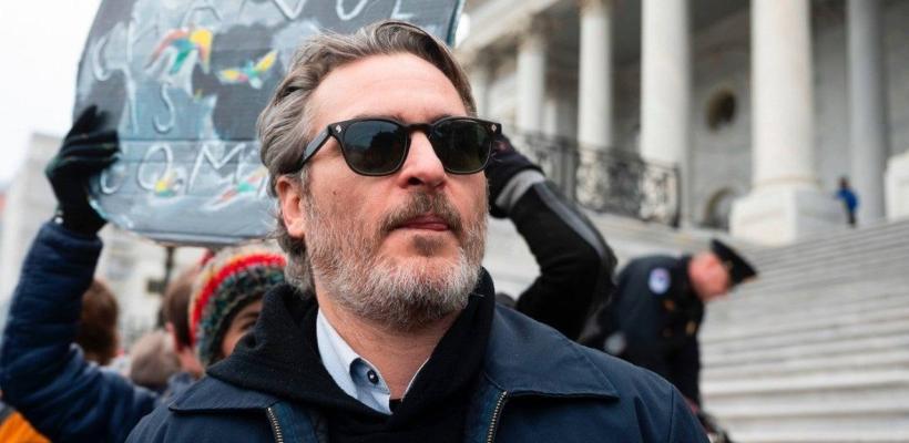 Joker es real: arrestan a Joaquin Phoenix en protesta contra el cambio climático