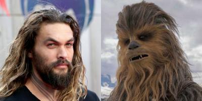 Star Wars: actor de Chewbacca quiere que Jason Momoa se convierta en un Wookiee