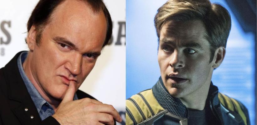 Quentin Tarantino dice que Chris Pine es su actor favorito y piensa que no dirigirá su película de Star Trek