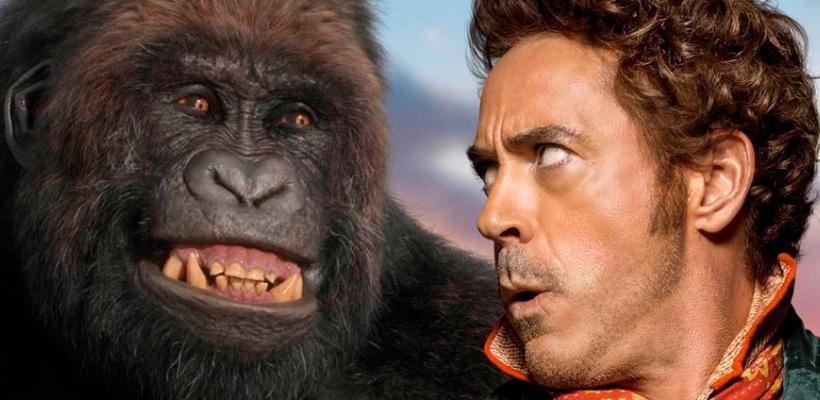 Dolittle: Al público no le ha gustado y ni siquiera Robert Downey Jr. ha logrado sacar a flote la película