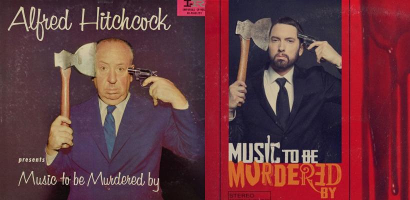 Eminem rinde homenaje a Alfred Hitchcock en su nuevo álbum