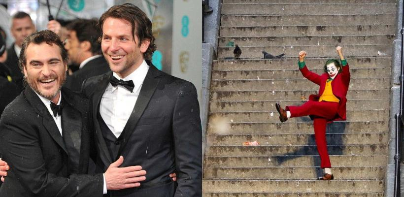 Joaquin Phoenix y Bradley Cooper ayudaron en la edición de Joker