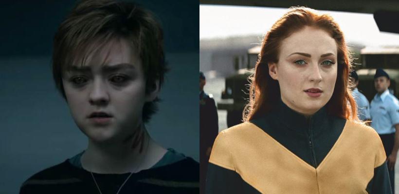 Maisie Williams y Sophie Turner aseguran que X-Men es mejor que Game of Thrones