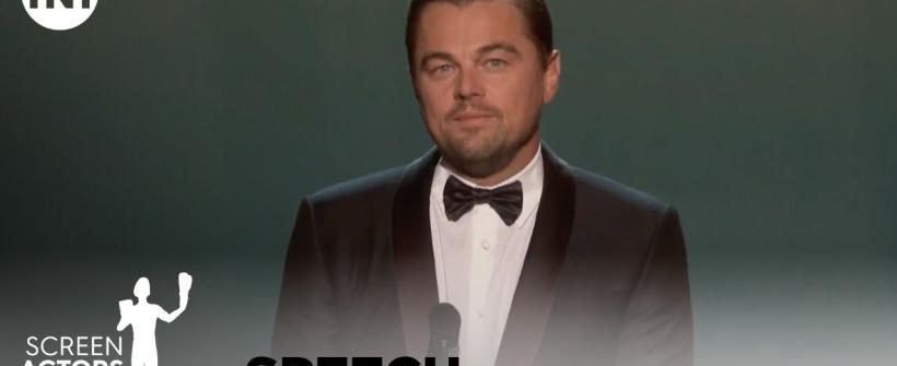 Leonardo DiCaprio presenta el premio a la trayectoria de Robert De Niro | SAG AWARDS 2020