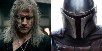 Fan exhibe similitudes entre The Mandalorian y The Witcher