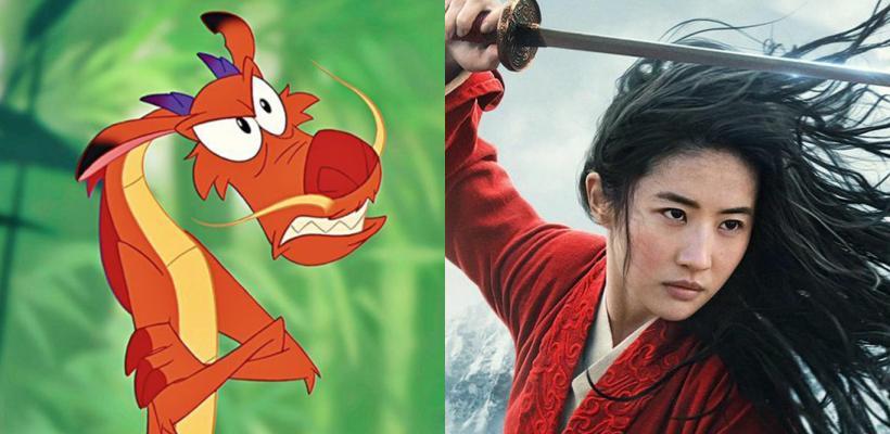 Mulan: fans reaccionan enfurecidos porque Mushu no aparecerá en el remake de Disney