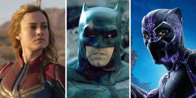 Capitana Marvel y Pantera Negra son más populares que Batman en todo el mundo, revela estudio