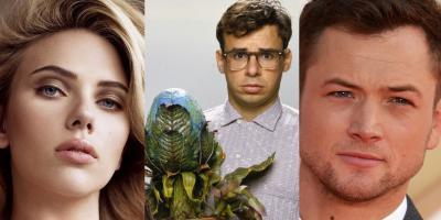 Scarlett Johansson y Taron Egerton podrían protagonizar remake de La Tiendita de los Horrores