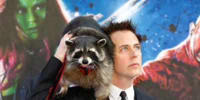 James Gunn recibe amenazas ante la posible muerte de Rocket Raccoon en Guardianes de la Galaxia 3