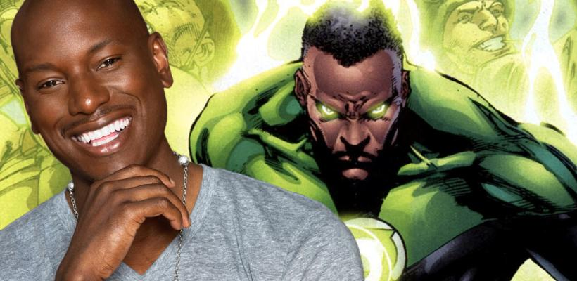 Tyrese Gibson continúa esperando que Warner Bros. lo llame para ser Linterna Verde