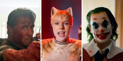 Razzies 2020: Rambo, Cats y Joker, nominados a lo peor del año