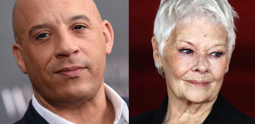 Rápidos y Furiosos 9: Vin Diesel confiesa que le encantaría trabajar con Judi Dench en la saga