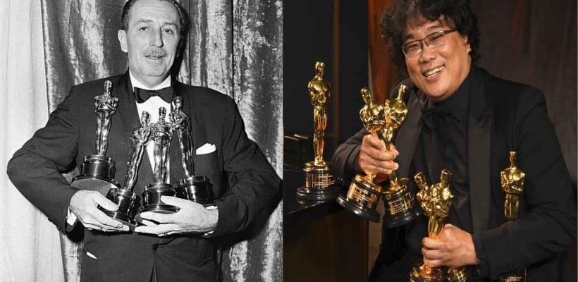 Óscar 2020: Bong Joon-Ho empata récord de Walt Disney con su victoria cuádruple por Parásitos