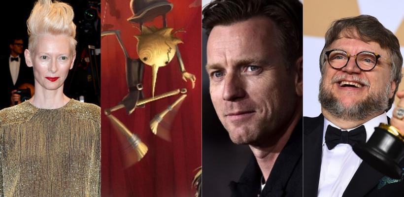 Pinocho: Tilda Swinton, Ewan McGregor y Christoph Waltz podrían unirse a la película de Guillermo del Toro