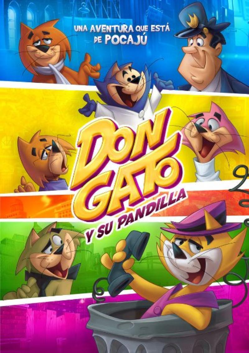 Póster Oficial de Don Gato y su Pandilla (2011)