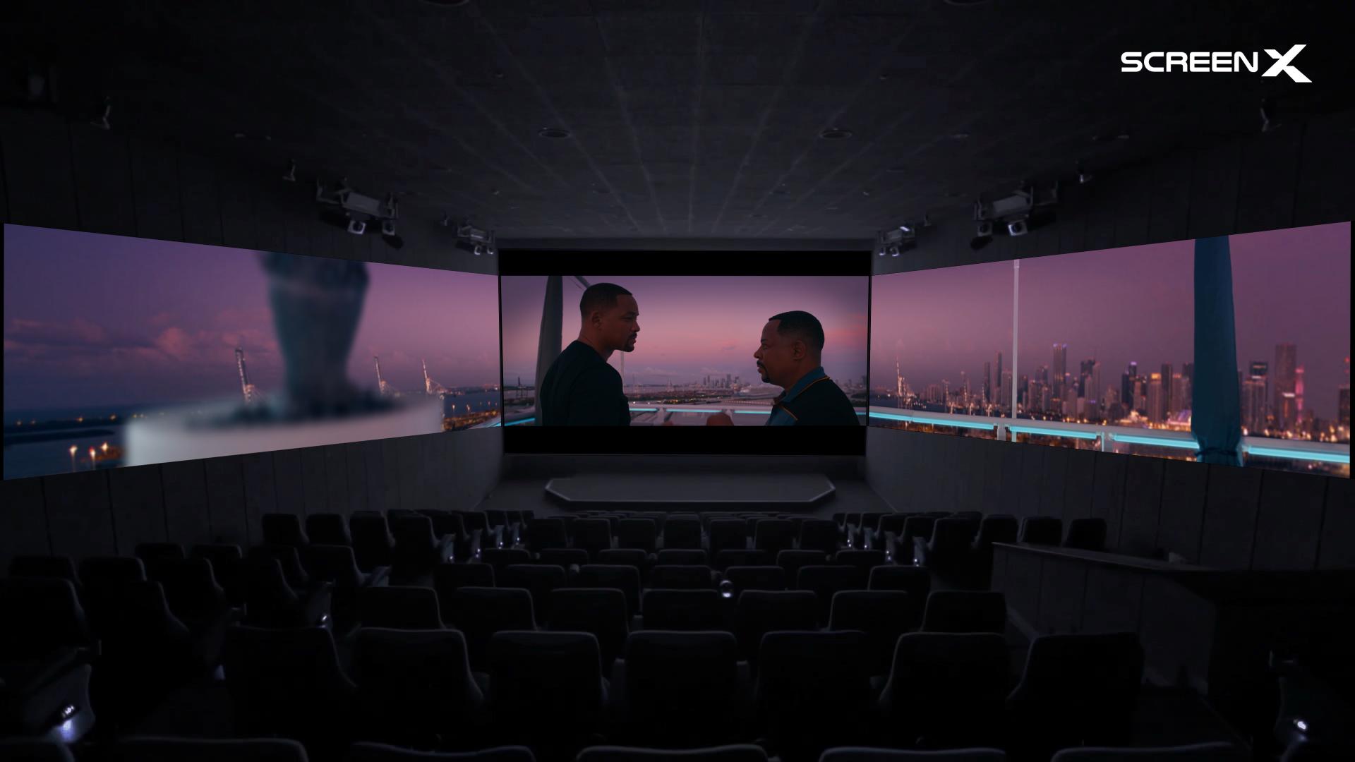 Screen x: Una inmersión visual