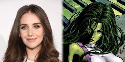 Alison Brie podría interpretar a She-Hulk en la serie de Disney Plus