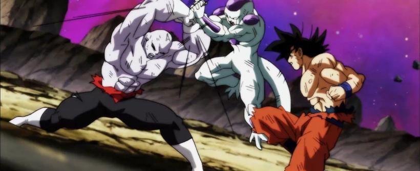 Gokú y Freezer derrotan a Jiren