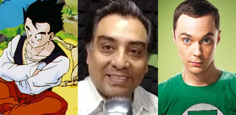 Muere Luis Alfonso Mendoza, actor de doblaje para Gohan, Sheldon Cooper y más