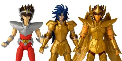 Saint Seiya: Bandai México lanza concurso para ganar las nuevas figuras de Seiya, Géminis y Sagitario
