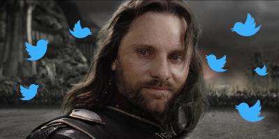 Aragorn, de El Señor de los Anillos, se convierte en tendencia en Twitter