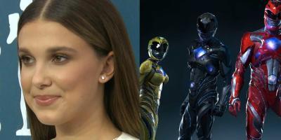 Millie Bobby Brown podría ser la Power Ranger Negra en el reboot