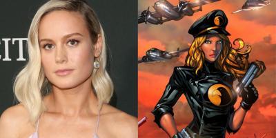 Warner Bros quiere a Brie Larson para darle vida a Lady Blackhawk en el DCEU