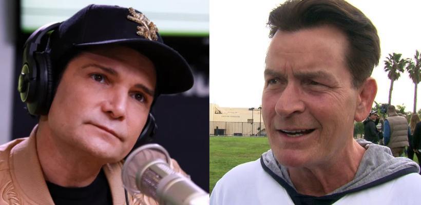 Charlie Sheen niega las acusaciones por abuso sexual de Corey Feldman