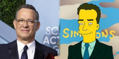 Fans aseguran que Los Simpson predijeron que Tom Hanks se enfermaría de coronavirus