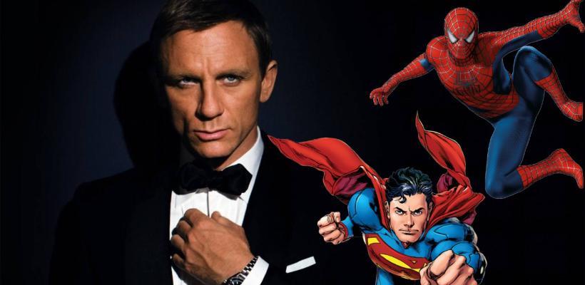Daniel Craig hubiera preferido interpretar a Superman o Spider-Man y no ser James Bond