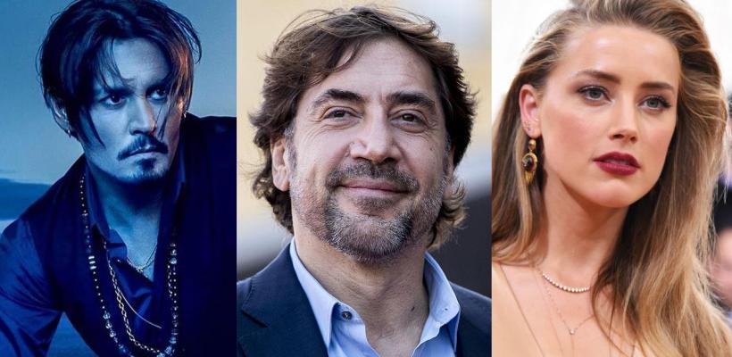 Javier Bardem defiende a Johnny Depp y llama a Amber Heard ser tóxico