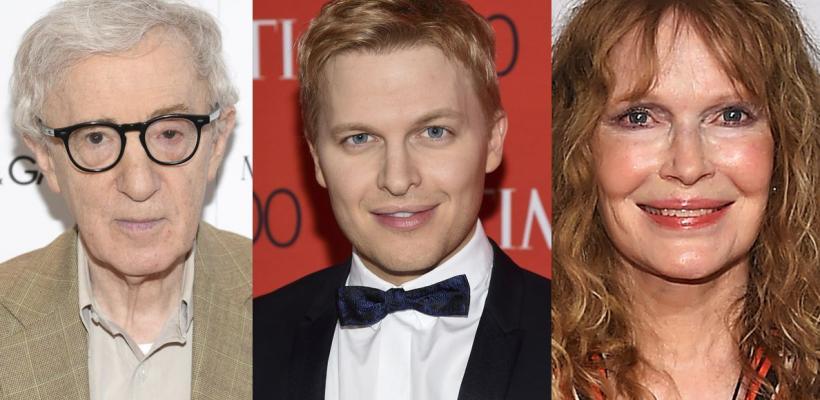 Woody Allen acusa a Mia Farrow de comportamiento indebido con su hijo Ronan