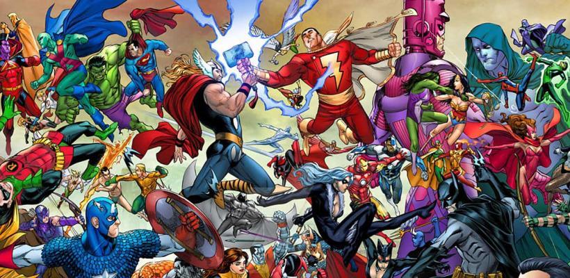 Escritores de cómics proponen crossovers de Marvel y DC para pasar la cuarentena