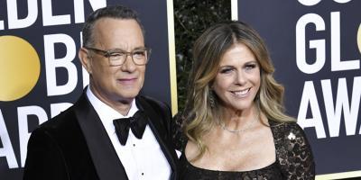 Tom Hanks y Rita Wilson regresan a Estados Unidos luego de la cuarentena por coronavirus